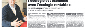 Ecologie rentable, La Semaine du 1er octobre 2020