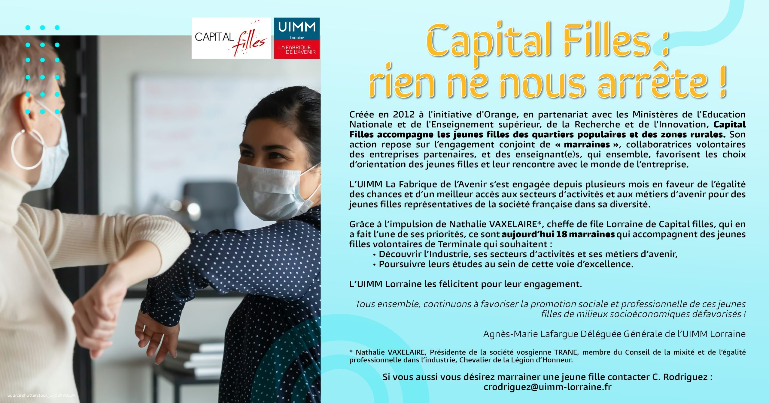 Capital filles, Nathalie Vaxelaire