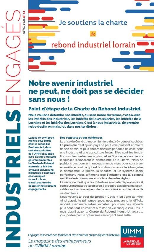 Industriels Engagés avril 2021