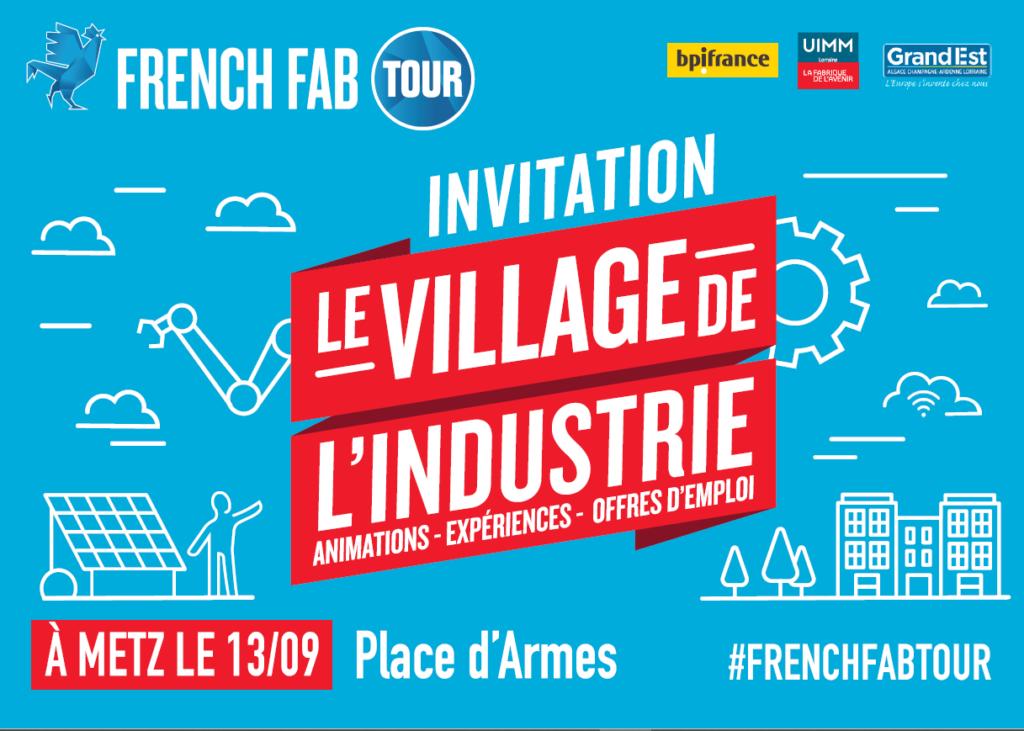 invitation french fab tour